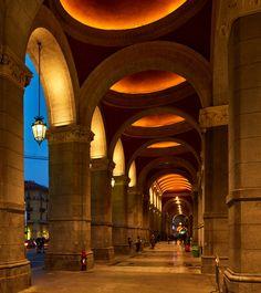 Torino Porta Nuova Station - Turin, Italy - Lighting products by iGuzzini Illuminazione - Photo: Paolo Carlini #iGuzzini #Lighting #Light #Luce #Lumière #Licht #PortaNuova #Turin #Station #UnderscoreInOut #iPro #Linealuce