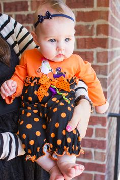 Make sure baby is festive for the first #Halloween, take a look at the assortment of adorable outfits for sale at the Cracker Barrel gift shop.
