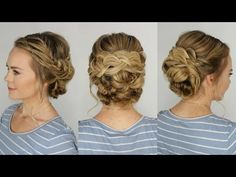 Braided and Knotted Updo | Missy Sue - YouTube