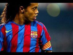 ▶ Ronaldinho ● Best Goals Ever ● - Just sit and watch. Barcelona Futbol Club, Fc Barcelona, World Football, Football Soccer, Soccer Gifs, Soccer Videos, Amazing Goals, Football Accessories, Messi And Neymar