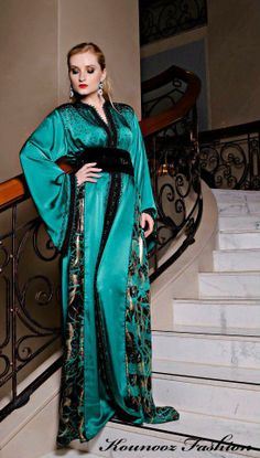 Caftan, Takchita, Jalaba, #MasterCollection, I ♥ Fashion and Trends for Moroccan Fashion on Pinterest.