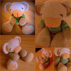 Grey Bear Amigurumi Crochet Pattern : Crochet-Free Amigurumi Patterns on Pinterest Amigurumi ...