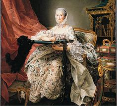 TITLE: Ritratto di Madame de Pompadour  DESCRIPTION: Oil on canvas  PLACING: London, National Gallery  PERIOD: 1763
