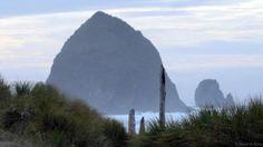 Haystack Rock off Cannon Beach (Credit: Credit: David G Allan)