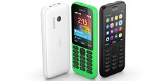 New Nokia 215 feature phone announced by Microsoft at CES 2015