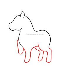 Learn how to draw a unicorn in 9 easy to follow steps. A complete tutorial for kids and adults alike. How to draw one of the most beautiful creatures. Unicorn Drawing, Beautiful Unicorn, Pencil Eraser, Learn To Draw, Mythical Creatures, Easy Drawings, Beautiful Creatures, How To Look Pretty, Colored Pencils