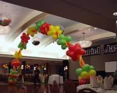 Balloon Archway from Ideal Party Decorators - www.idealpartydecorators.com
