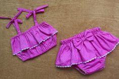 Baby Girl Birthday Dress, Baby Boy Dress, My Baby Girl, Baby Clothes Patterns, Clothing Patterns, Sewing For Kids, Baby Sewing, Como Fazer Short, Girls Dresses Sewing