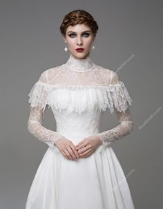 Coco Wedding Dress Unique Wedding Gown by BizarBridalCouture