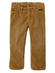 Corduroy straight fit pants - Back to Cool: Hit all the right style cords. Dashiell