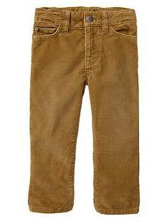 Pantalon coupe droite en velours côtelé | Gap