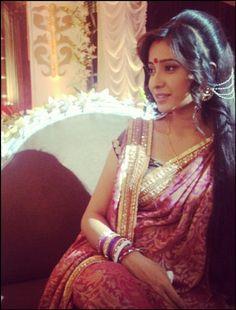 Asha Negi Saree Dress, Sari, Celebs, Celebrities, Actresses, Indian, Tv, Krishna, Pakistan