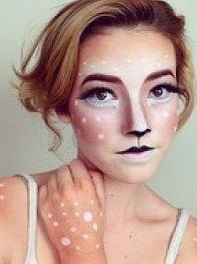 "<strong>These ladies have the cutest DIY deer inspired makeup and antlers for Halloween!</strong> ""Doe"" you agree?"