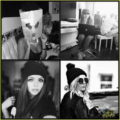 Little Mix knows how to wear hats.  Leigh-Anne didn't get the memo.