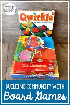 Board games (used purposefully!) are on of my favorite quick and easy community building activities for elementary students.  Check out how I help students to build connections with peers outside of their regular social circles and make connections with new friends using purposeful playtime in second, third, and fourth grades.