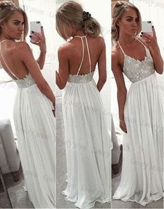 White+Chiffon+Sequin+Long+Prom+Dress+For+Teens+Backless+Long+Prom+Dresses+2016+S393+ This+dress+could+be+custom+made,+there+are+no+extra+cost+to+do+custom+size+and+color.  Description  1,+Material:+chiffon,+elastic+silk+like+satin,+pongee.  2,+Color:+picture+color+or+other+colors,+there+ar...