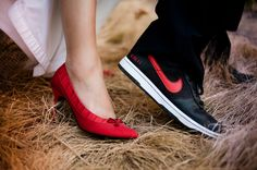 Custom Nikes for Brides & Grooms