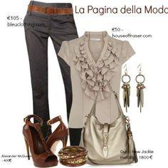 La pagina Della moda.