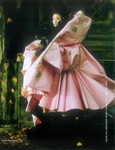 'Stunning in Colors', Gong Li, Harper's Bazaar ChinaJanuary 2009.  Christian Dior Spring Summer 2003 Haute Couture
