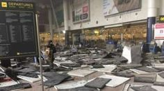 """Image copyright                  PA                  Image caption                     Two bombs tore through Brussels airport on 22 March   Belgian Interior Minister Jan Jambon has come under fire for saying that a """"significant part of the Muslim community danced"""" in response to the Brussels bomb attacks. He was repeatedly asked by MPs for evidence of his claim and a Muslim group has made an official complaint. The 22 March bomb attacks at Brus"""