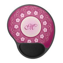Cherry Blossoms Monogram Pattern Gel Mouse Pad http://www.zazzle.com/my/products/public?dp=252585008705651924&st=Views_1&sr=250244228673607604&pg=2