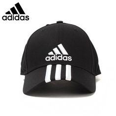 Unisex Original Adidas Sport Caps ($35) ❤ liked on Polyvore featuring accessories, hats, uv protection hats, sports caps hats, sport caps, adidas and stripe hat