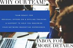 Have you been burnt out by your previous efforts in network marketing? Did it feel like your upline was out of reach? Did your sponsor's support disappear? It's different over here!! We Lead with Love and believe that Success is Better When We Succeed Together. It's different over here! Email residualwithmarie@gmail.com and let's show you how marketing should be done #ResidualWithMarie #Mompreneur #Dadpreneur #NewBaby #NewParents #WorkFromHome #FreeOpportunity #BusinessWomen #BusinessMen…