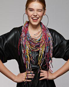 Silk necklace Шелковые колье Silk Scarves, Russia, Dreadlocks, Hair Styles, Beauty, Hair Plait Styles, Hair Makeup, Hairdos, Haircut Styles