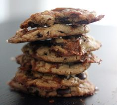 My Salted Caramel Chocolate Chip Cookies...so easy and SO yum!