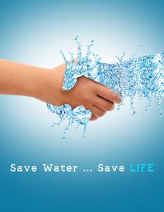 Save Life on Behance Save Water Images, Save Water Quotes, Save Water Slogans, Save Water Save Life, Poster On Save Water, Save Water Drawing, Earth Drawings, Water Background, Save Our Earth