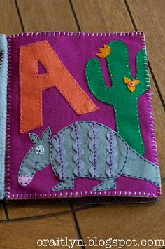 A is for Armadillo by simplykaits, via Flickr like the ric rac
