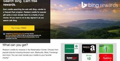 Bing Rewards Sign Up