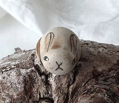 Beach Pottery Rabbit by LillaJizo on Etsy, $55.00