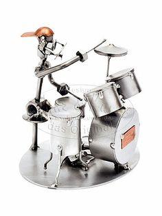 Schraubenmännchen Schlagzeuger