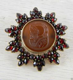 Hey, I found this really awesome Etsy listing at https://www.etsy.com/listing/184062946/10-point-star-victorian-bohemian-brooch