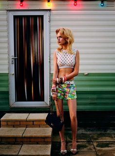 trailer trash 50s miami fashion inspiration
