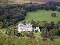 Glen House--Innerleithen, Peebles, Scotland