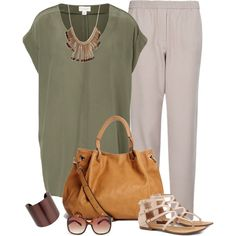 """""""Casual Flow"""" by fiftynotfrumpy on Polyvore"""