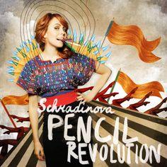 Schradinova - Album Cover by BECHA , via Behance