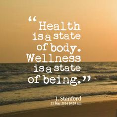 MAXMILLIAN THE SECOND: Health is a state....
