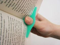 One handed book holder   # Pinterest++ for iPad #