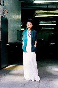 Vanessa Jackman: New York Fashion Week AW 2012...Margaret