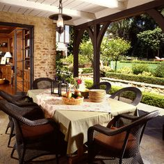 Traditional Patio Dining - Traditional - Patio - Other Metro - Kathryn Waltzer