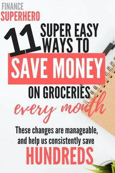 Are you pulling your hair out over rising grocery costs? In this post, we're sharing 11 ways we have cut our grocery bill nearly in half without reducing the quality of our diet or spending hours couponing. If you're looking to save mon Money Saving Meals, Save Money On Groceries, Ways To Save Money, Money Tips, Frugal Living Tips, Frugal Tips, Save On Foods, Hacks, Budgeting Tips