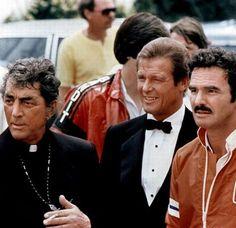 Cannon Ball Run - Burt Reynolds, Roger Moore and Dean Martin 1981