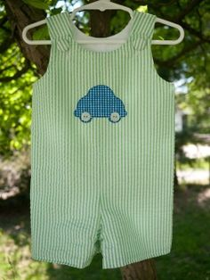 Little boy's romper - I made so many of these for my little boys!