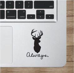 Harry Potter Always Laptop Decal Macbook Apple by TreeCityDesigns