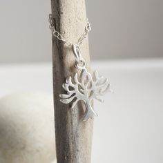 Silver Tree Necklace - by Lily Charmed