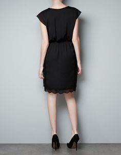 Zara LBD with lace