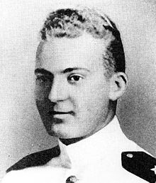Lieutenant Milton E. Ricketts, United States Navy Medal of Honor recipient USS Yorktown (CV-5), Battle of the Coral Sea, World War II May 8, 1942. Namesake of USS Ricketts (DE-254).